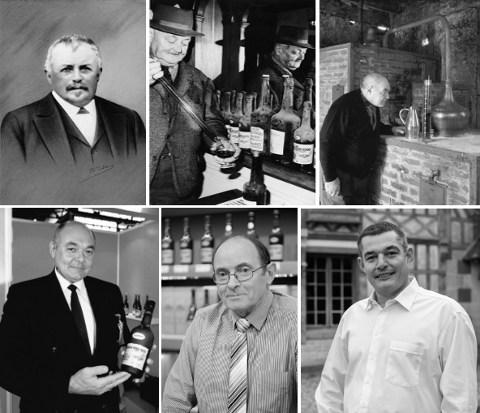 Depuis 1865 production familiale Calvados sur le domaine à Cambremer
