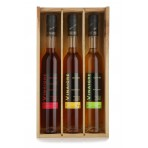 Coffret 3 vinegars 35 cl
