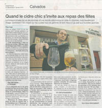 Pierre Huet in Ouest France