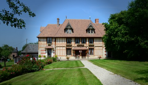 The Pierre Huet Calvados Estate on the Cider Route in Normandy produces Calvados, Cider and Pommeau