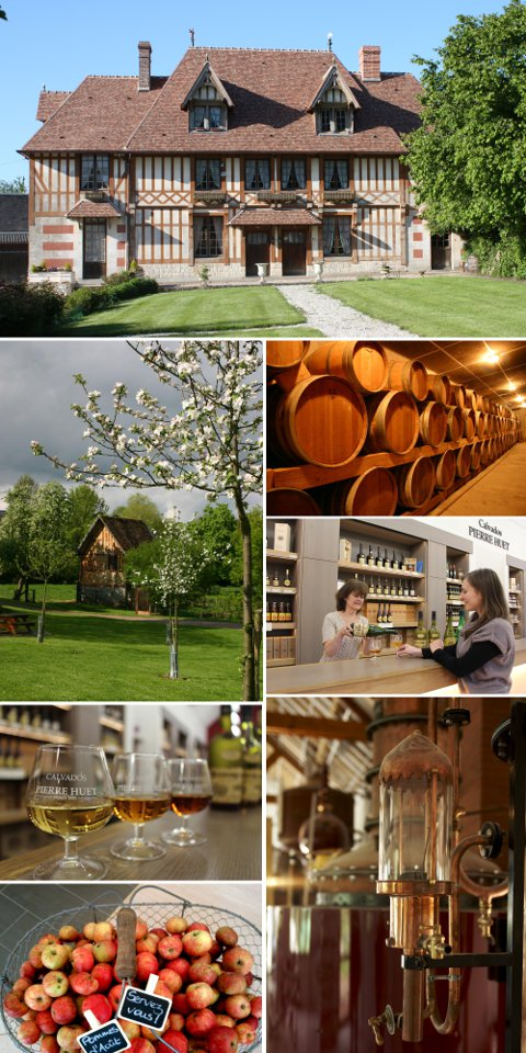 Guided tour of the Pierre Huet cellars and guided tasting sessions of calvados, ciders and pommeau